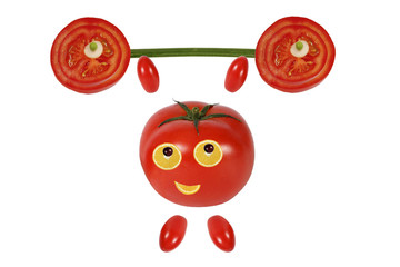 Little funny tomato raises the bar