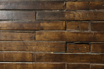 Brown wood texture of pallets.