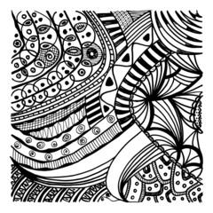 Zentangle background