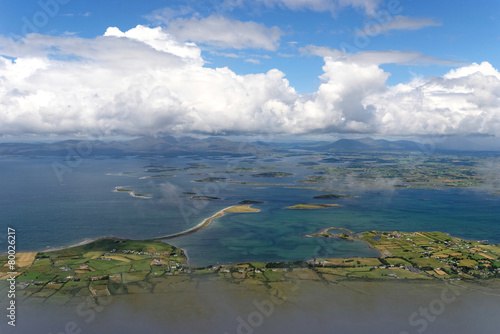 Fototapete View from Croagh Patrick