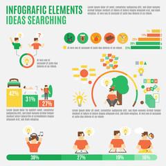Ideas Infographic Set