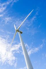 PALMERSTON NORTH, NZL - May 18 2014:Wind turbine in Te Apiti Win