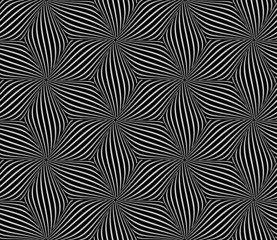 Seamless op art pattern.