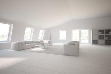 modern 3d interior design