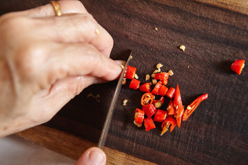 Cut chilli
