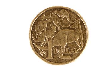 Australian dollar coin