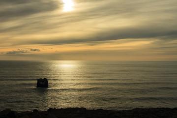 Islanda: tramonto sul mare