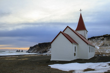 Islanda, chiesa di Vik