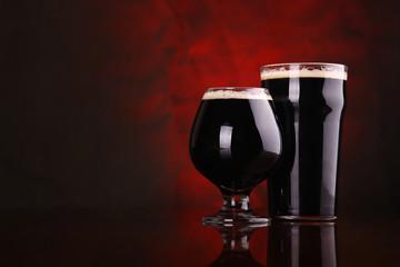Obraz Dark stout beer - fototapety do salonu