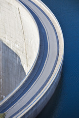 Photo sur Aluminium Barrage Dam wall