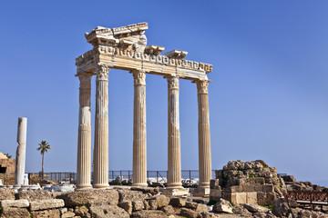 The Temple of Apollo in Side, Turkey.
