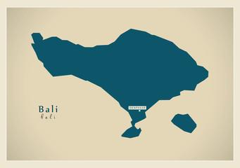 Modern Map - Bali ID
