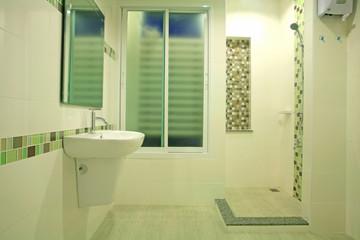 modern bathroom by green concept