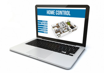 laptop home automation control