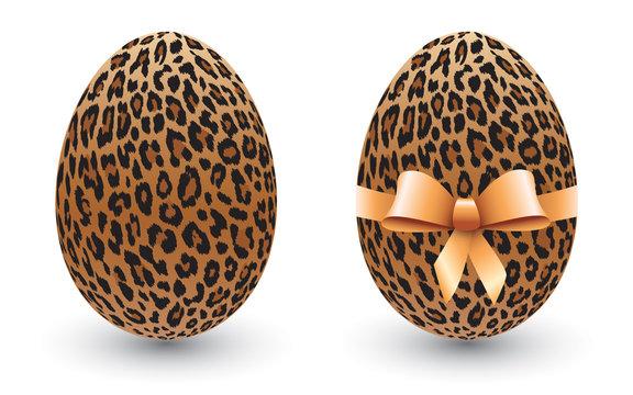 Œufs de Pâques léopard-1