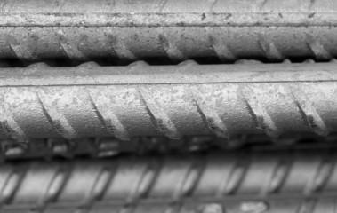 Reinforcing steel bar for construction