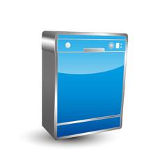 Dishwasher Icon 3D