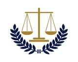 """""""Scale of Justice Law Firm Logo v.3"""" Stock image and ..."""