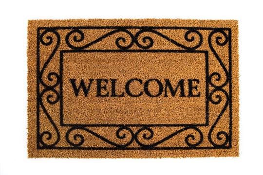 Door Mat: Friendly Welcome Door Mat