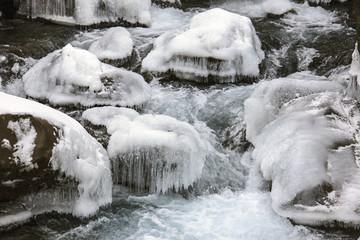 Islanda, sassi ghiacciati