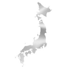 日本 地図 シルク