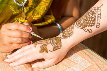 bemalung mit henna