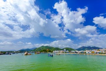 Port town,vietnam