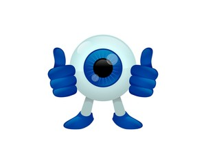 The Eye Ball Logo