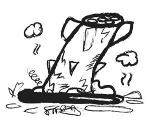 doodle destroyed missiles