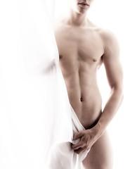 nude male body