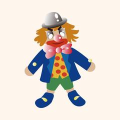 circus clown theme elements