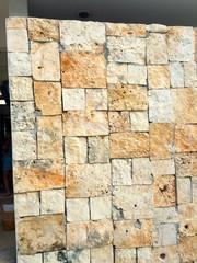Sandstone Wall, Isla Mujeres, Mexico