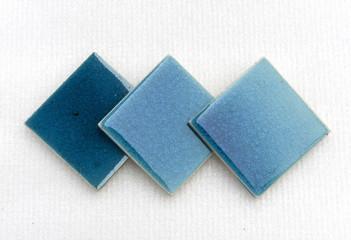 Blue set swimming pool glass crack texture tile