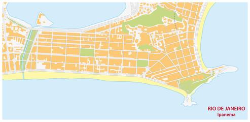 ipanema map