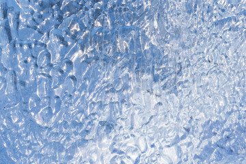 Close of Ice for Background Use