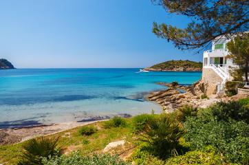 Wall Mural - View of beautiful beach in Sant Elm, Majorca island, Spain