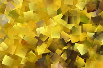 Gelbes Mosaik, Kubismus