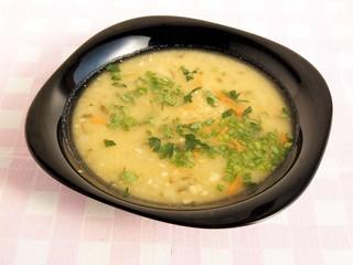 lentils soup for dinner