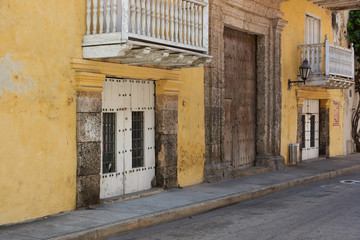 Colourful Buildings in Cartagena de Indias