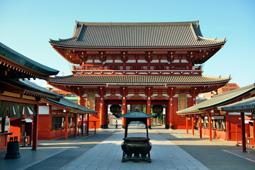 Photo sur Aluminium Tokyo Tokyo temple