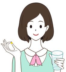 女性 錠剤 サプリ