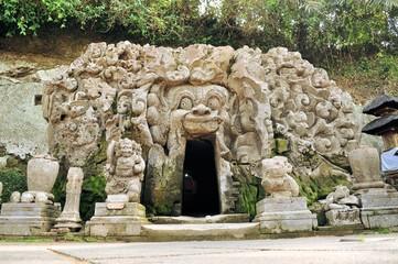 Papiers peints Edifice religieux Hindu temple Goa Gajah, Ubud, Bali, Indonesia