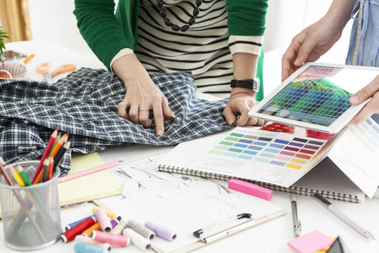 Women who are making clothes