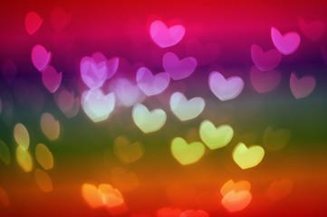 Bkeh hearts
