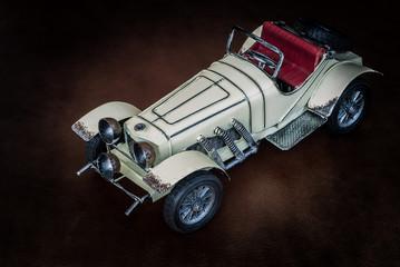 Antique toy car
