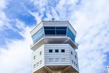 tower of the new airport in Arrecife