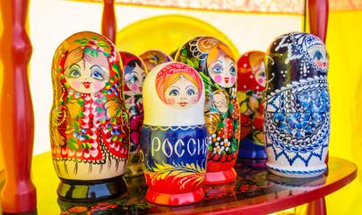 Hand Painted Nesting Dolls