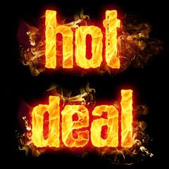 Fire Text Hot Deal