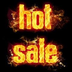 Fire Text Hot Sale
