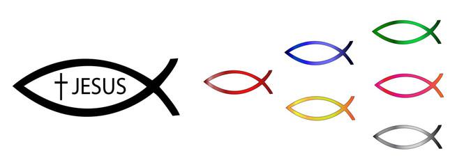 Ichthys Christian sign